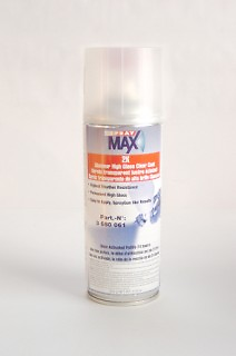 SprayMax  2K Automotive Grade Activated  CLEAR COAT 3680061  USC spray max