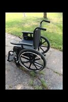 Slightly used great condition wheelchair!