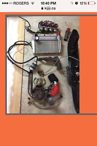 rx1 turbo kit $1200 MUST GO,    (CHEAPEST KIT YOU'LL FIND)