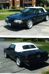 88 SUPERCHARGED MUSTANG LX CONVERTIBLE