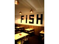 EXPERIENCED FISH FRYERS for HOLIDAY COVER START THIS WEEK
