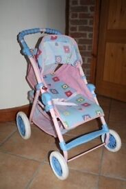 Doll's pram (You and Me stroller)