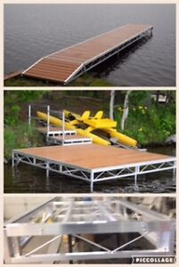 ALUMINUM DOCKS & DECKS WELDED