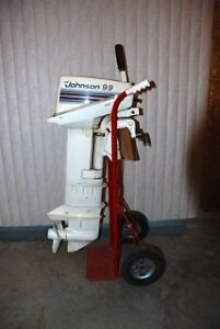 Outboard 9.9 hp Johnson