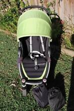 Steelcraft Agile Pram/ Stroller Green + FREE Sun and Rain Cover Beecroft Hornsby Area Preview