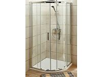 Brand New Turin Quadrant Shower Enclosure - 900 x 900mm - 8mm Glass for sale  Taunton, Somerset