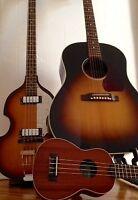 Cours de Guitare (Élec/Acous), Ukulélé et Basse Électrique
