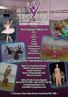 Dance Classes (ballet, tap, Modern, acro, singing and drama)