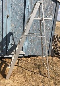 Six Foot Collapsible Aluminum Ladder