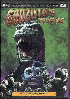 Godzilla's Revenge - New DVD -  All Monsters Attack on Rummage