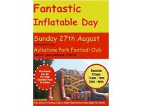 Fantastic Inflatable Day!!!
