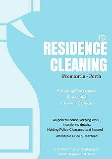 ID Residences Cleaning Services.