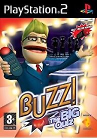 PS2 buzzers and 3 games