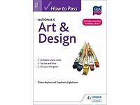 Art and Design Written Paper Tutor, Nat 5, Higher, Secondary School Tutoring