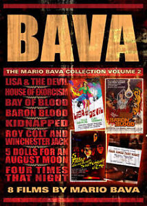 Mario Bava Box Set(Volume 2) 8 films/6 dvds + bonus dvd