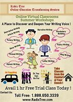 English and Math online tutoring available at home. Delta, BC