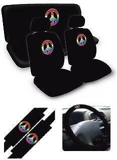 Peace Frog Car Seat Covers
