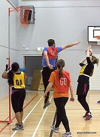 Ladies Versatility Netball - Indoor League