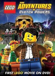 DVD The Adventures of Clutch Powers (Lego)