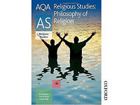 AQA Religious Studies Philosophy of Religion text book AS (CAN POST) (Excellent condition)