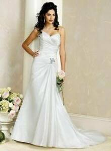 Maggie Sottero Wedding Dress, size 10