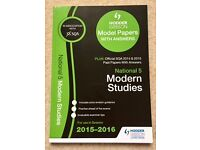 National 5 Modern Studies - 3 separate revision/past papers books