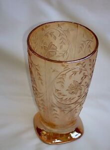 Floragold Jeannette Glass Company Drinking Glass Iridescent-Sale