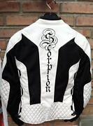 White Motorcycle Jacket