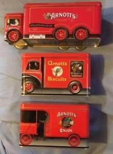 Arnotts Biscuit Tin Trucks - Three North Brighton Holdfast Bay Preview