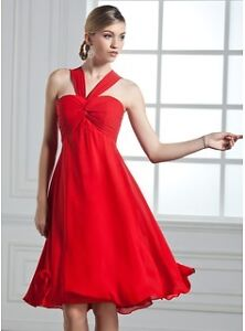 Robe coktail rouge