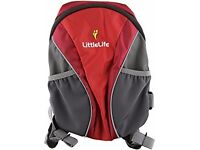 Liitlelife toddler backpack with rein - new