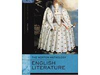Norton Anthology of English Literature, volume 1 (8th edition)