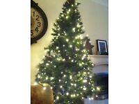 For Sale 6foot Bushy Christmas Tree with Pine Cones