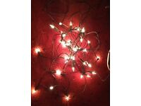 2 SETS OF CLEAR FAIRY LIGHTS