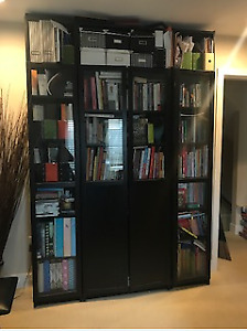 Ikea Billy Bookcases.