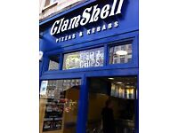 COUNTER ASSISTANTS REQUIRED FOR FISH & CHIP SHOP ON ROYAL MILE