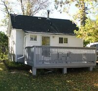 House with garage for rent in Donalda, AB