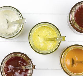 Grillsaucen sorgen für bunte Vielfalt auf dem Teller. (Copyright: Thinkstock/ über The Digitale)