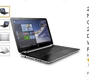 Get 2017 HP Flyer Silver 15.6 Inch Notebook Laptop (Intel Pentiu