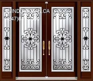 Double Entry Front TwoSidelites Door  17 years of experience
