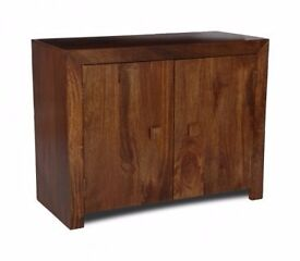 Dark Mango Living Room Cabinet