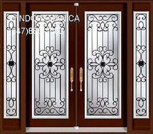 Front Door Entry Double TwoSidelites  modern or traditional Desi