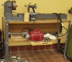 Beaver Power Lathe model 3400 with copier and extra parts