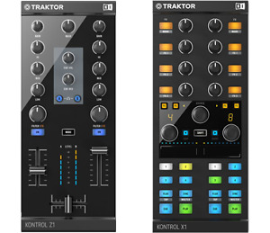 Native Instruments' Traktor Kontrol Z1 and X1 mkII