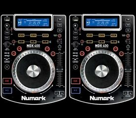 2 x Numark NDX 200