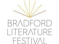 Volunteers for Bradford Literature Festival