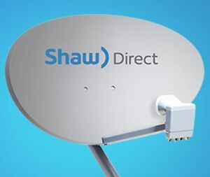 Shaw Direct Brand new Dish and Install Call 647-995-6326 Gagik