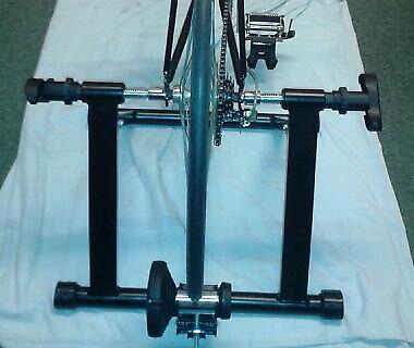 Indoor Magnetic Bike Trainer.