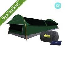Crazy kart- King Single Camping Canvas Swag Tent Green Brisbane City Brisbane North West Preview