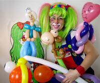 Animation de fête avec Marie-Popette, clown chouette!